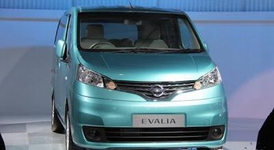 Harga Mobil Nissan Evalia Terbaru 2012