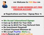 Fitur PHDBux.com