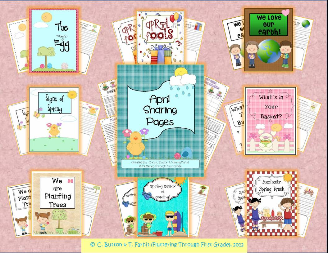 Class Share Time & Back to School Freebie | Fluttering Through First ...