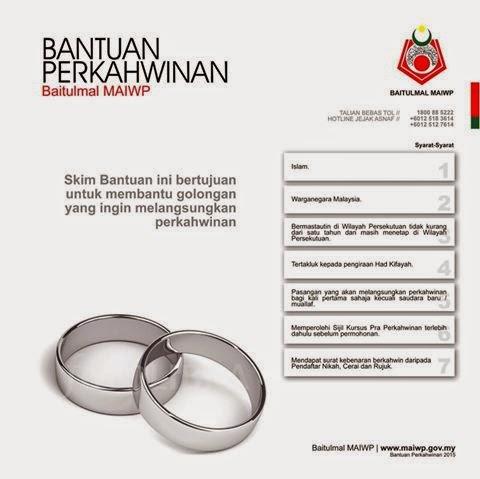 Permohonan Skim Bantuan Perkahwinan Baitulmal MAIWP