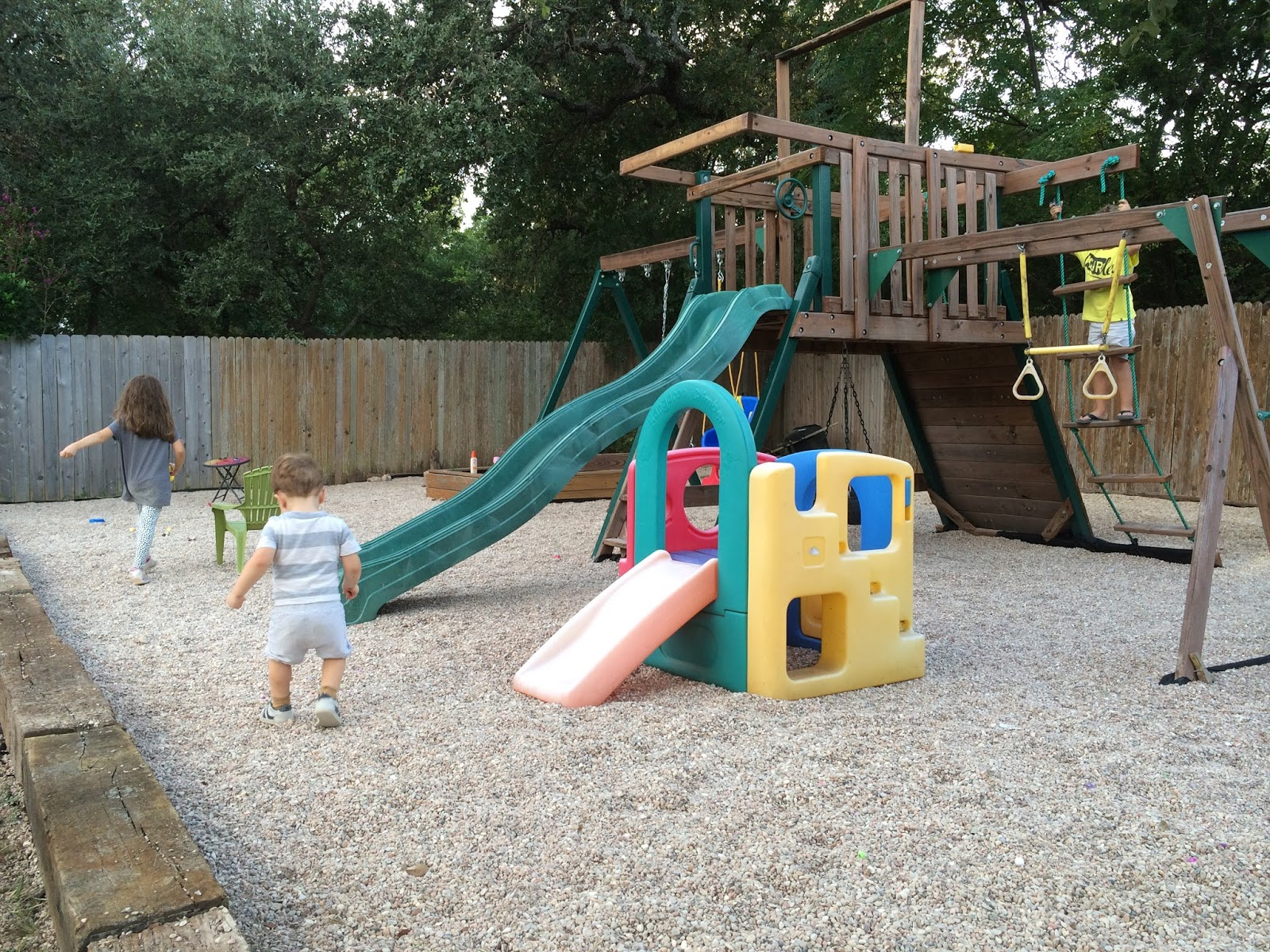 pea gravel playground backyard home tour tuesday the great outdoors kailo chic life jpg 1600x1200 playground pea gravel pea gravel wwwtopsimagescom