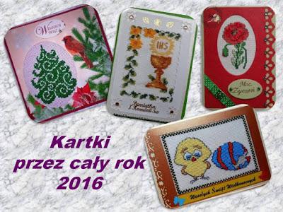 SAL - kartki przez cały rok 2016