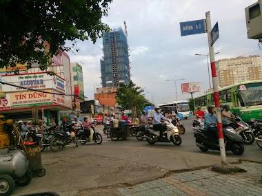 Cho thuê mặt bằng kinh doanh mặt tiền Điện Biên Phủ, Bình Thạnh, rộng rãi thông thoáng, có bãi đậu xe