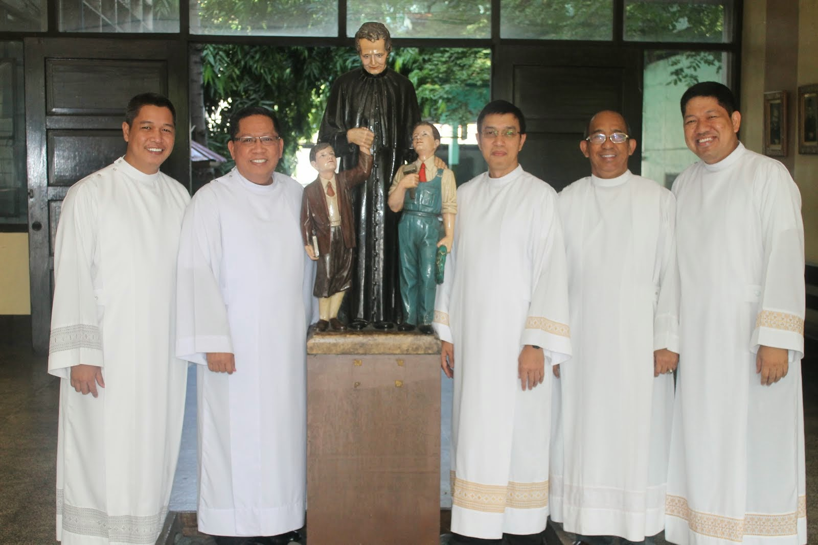 The Salesian Community of DON BOSCO TONDO sy 2014-2015