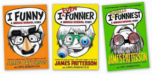 i funny james patterson