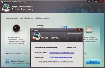 Download Wondershare Photo Recovery 3.1.0.6 Including Register DLL