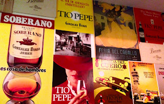 Classic Tio Pepe and Soberano brandy adverts