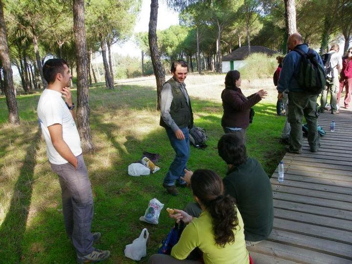 Ver y conocer las aves desde Sevilla. XV Recibimiento a los Ánsares, Ed. 2011. Organiza Gripo Local SEO-Sevilla de SEO/BirdLife