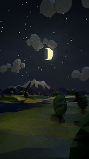 night sky iPhone 5 wallpaper 2013