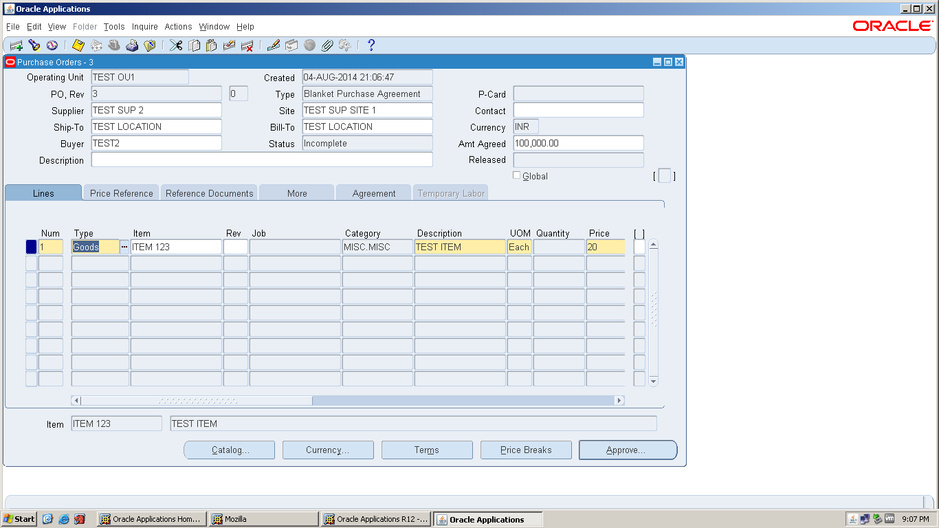 Oracle Apps Functional What Is Retroactive Pricing And How To