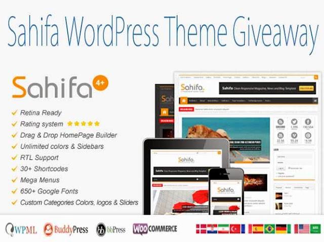 Sahifa Premium Theme