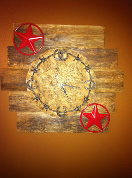 My Daddy made me a clock