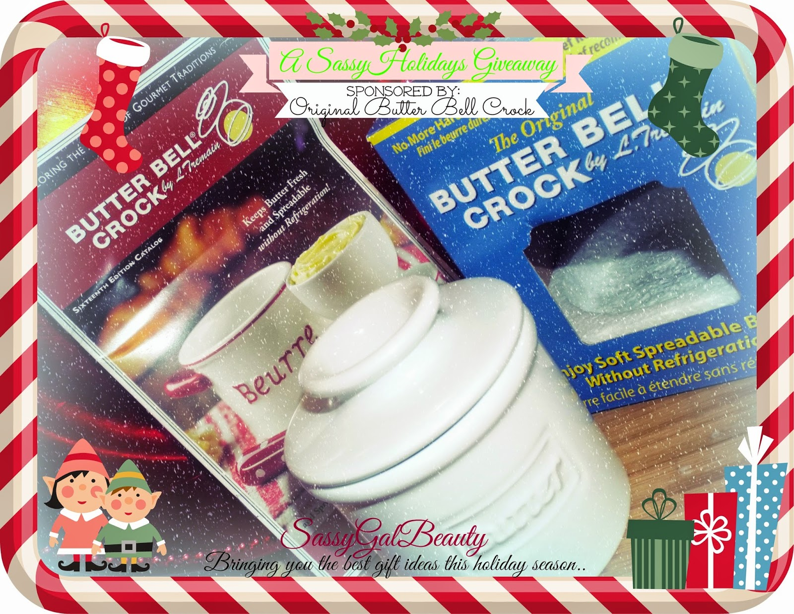 Original Butter Bell Crock Giveaway