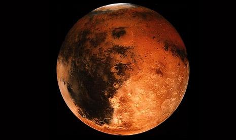 Kehidupan Bumi Diperkirakan Berasal dari Mars
