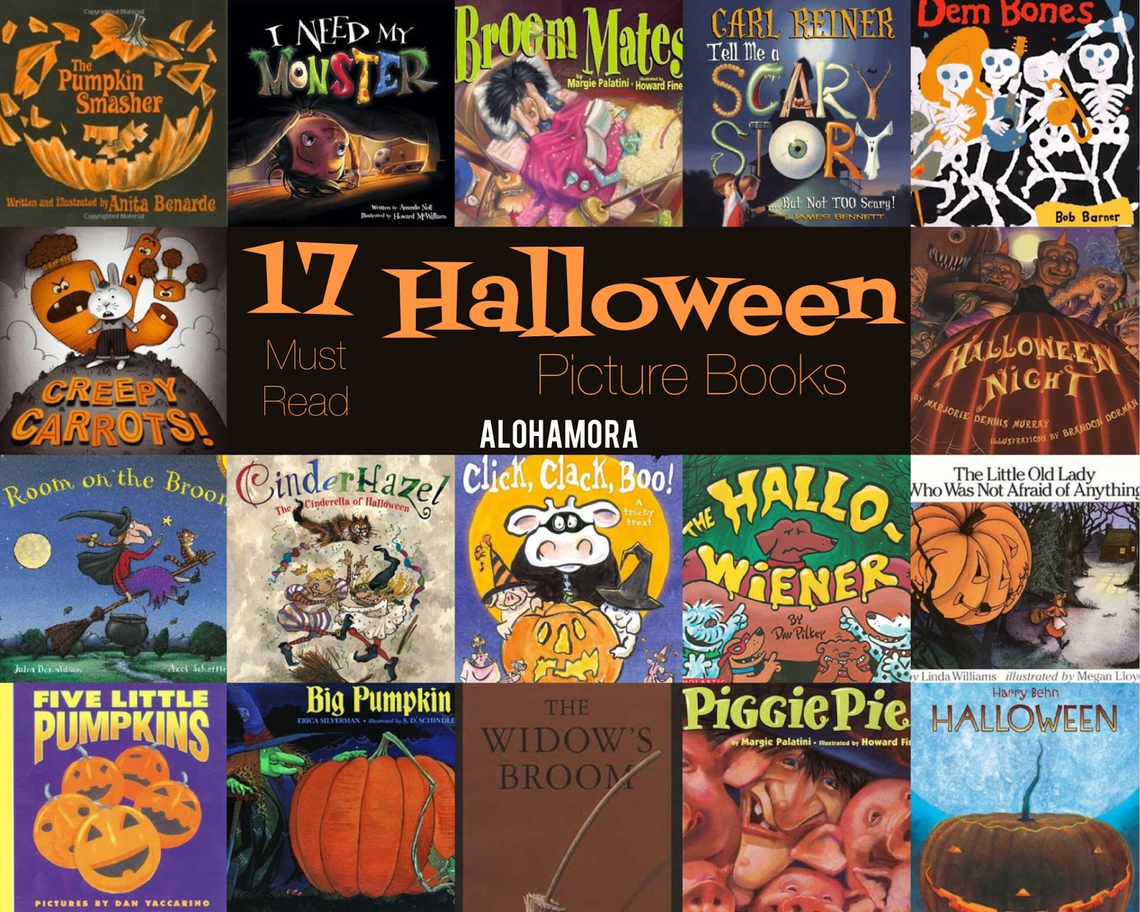 Alohamora: Open a Book: 17 Must Read HALLOWEEN Picture Books