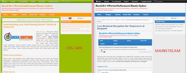 Cara Menerapkan CSS Berbeda di Artikel Blog