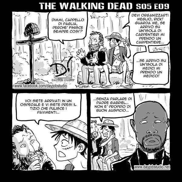 The Walking Dead - 5x09 -Non è finita (Dayjob Studio)