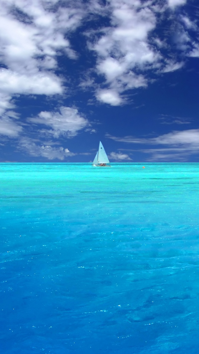 Wonderful+Blue+Ocean+iPhone+5+rooteto iPhone 5 Resimleri