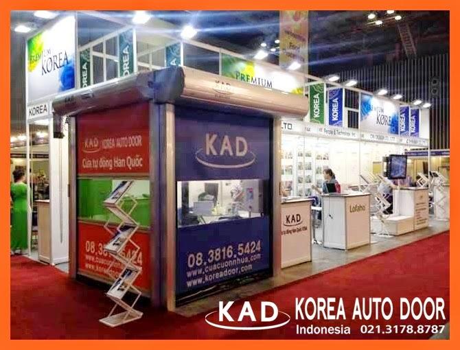 KAD high speed door exhibits in vnprintpack expo