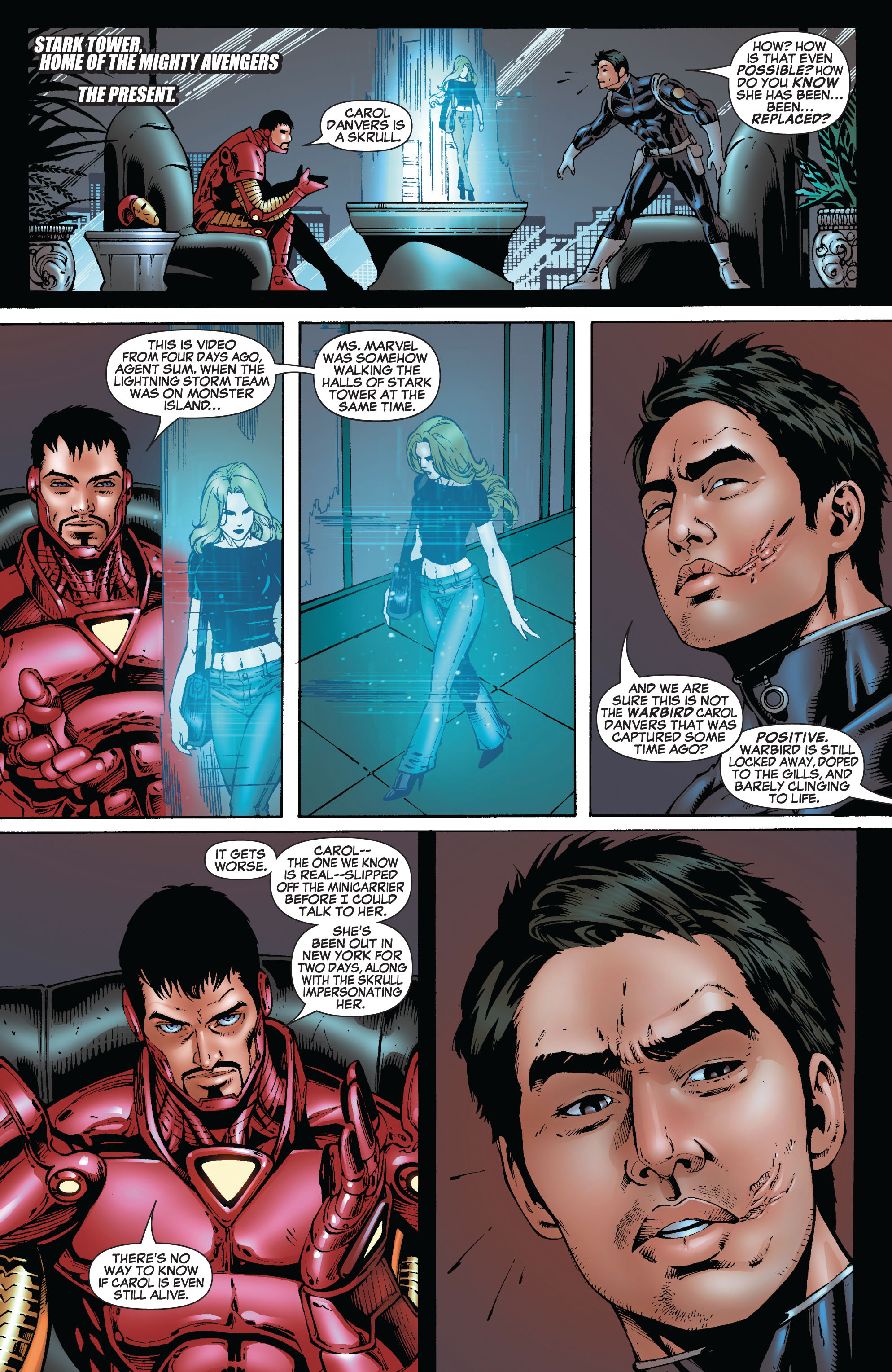 Read online Secret Invasion: The Infiltration comic -  Issue #8 - 6