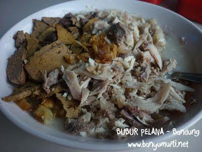 Kuliner Bandung - Bubur Ayam Pelana