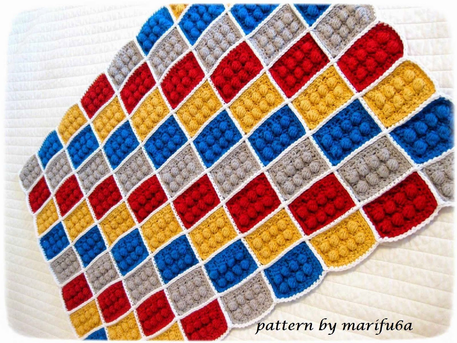 Crochet Lego Blanket : how to crochet lego blanket free pattern tutorial