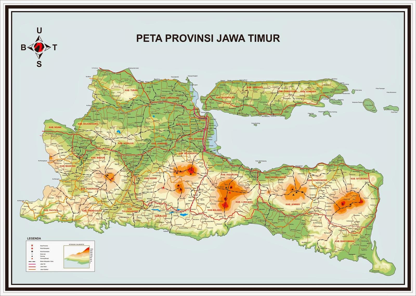 Ridwan Blog Peta Jawa Timur Format Coreldraw Wwwgambar