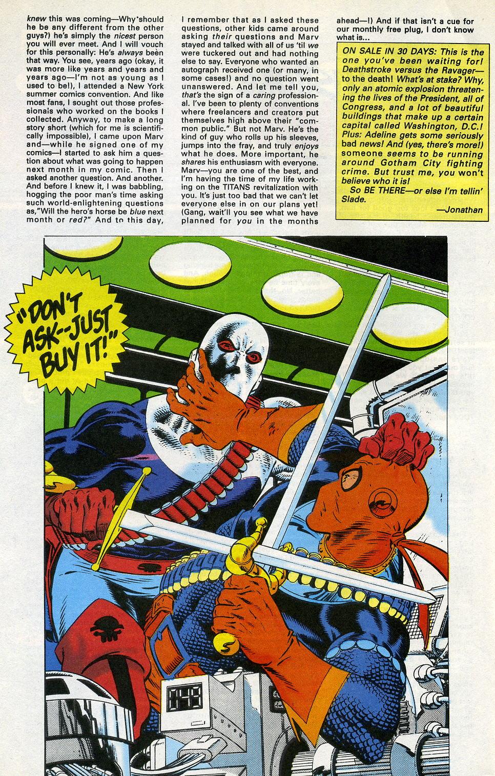 Deathstroke (1991) Issue #3 #8 - English 32