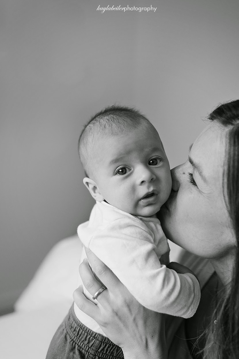 motherly kiss photo