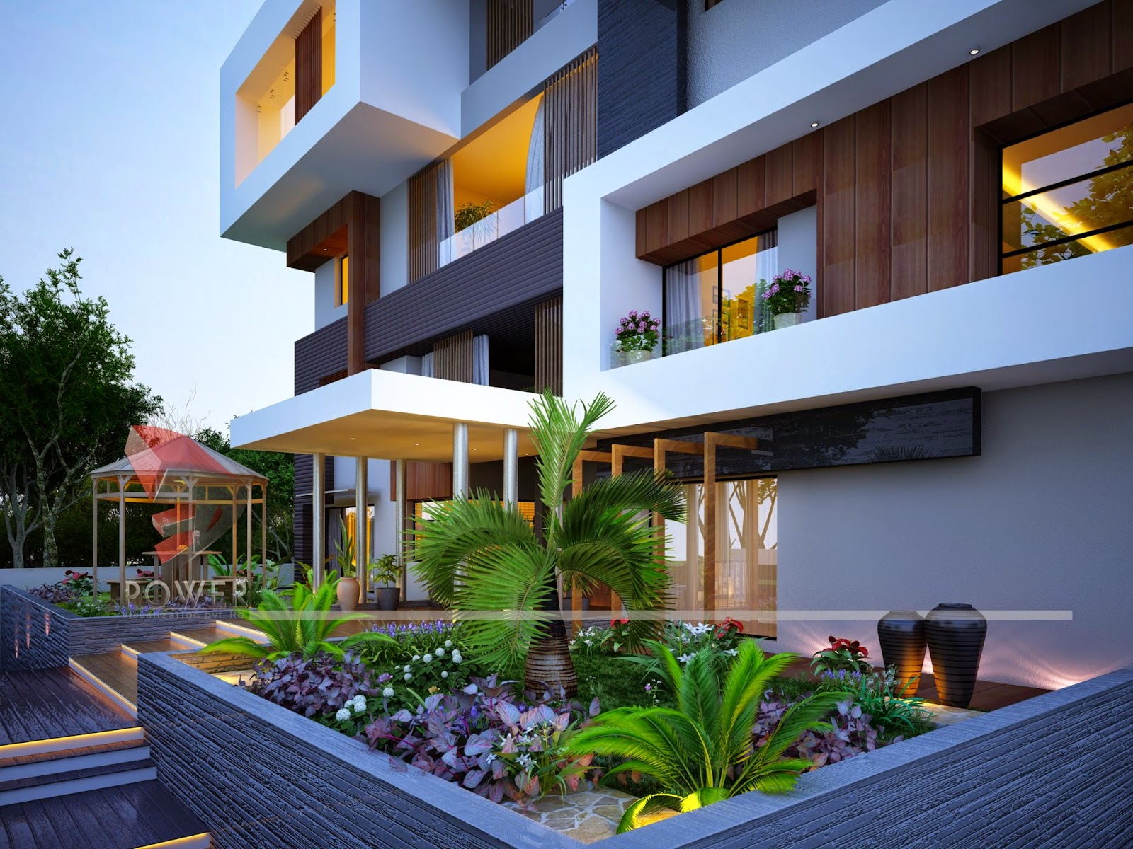 modernhomedesign House 3D Interior Exterior Design Rendering