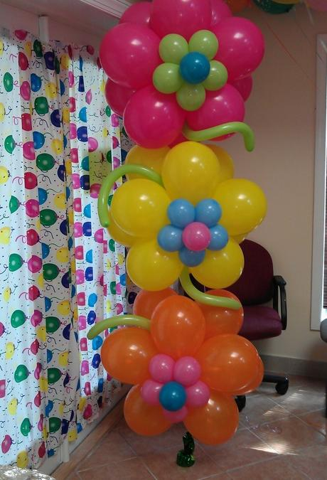 Como adornar con globos una fiestas infantil imagui for Adornos para decorar mi casa