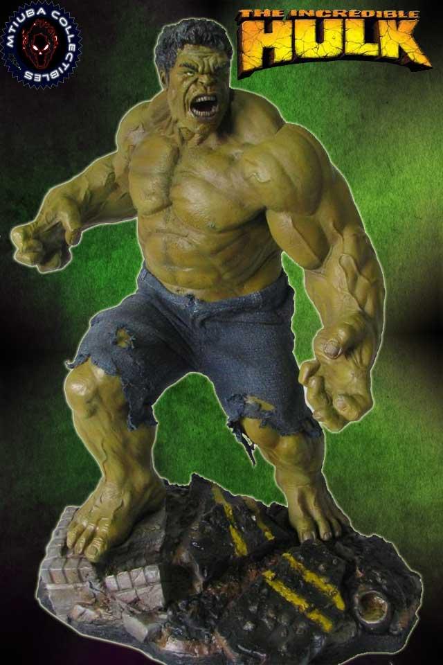 Mtiuba collectibles the incredible hulk avengers