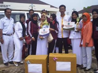 Peringatan HKN, Puskesmas Sungai Pinang Raih Juara