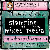 31 Days of Stamping Mixed Media