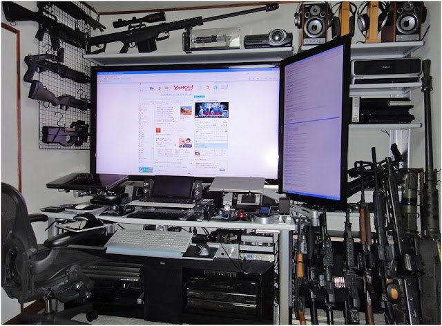 Top 7 ultimate home offices pics for Home office pics