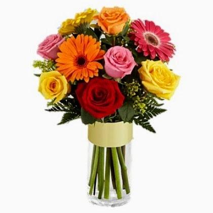 σύνθεση λουλουδιών ανθέμιο