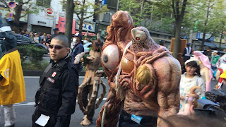 Highly detailed Resident Evil costumes
