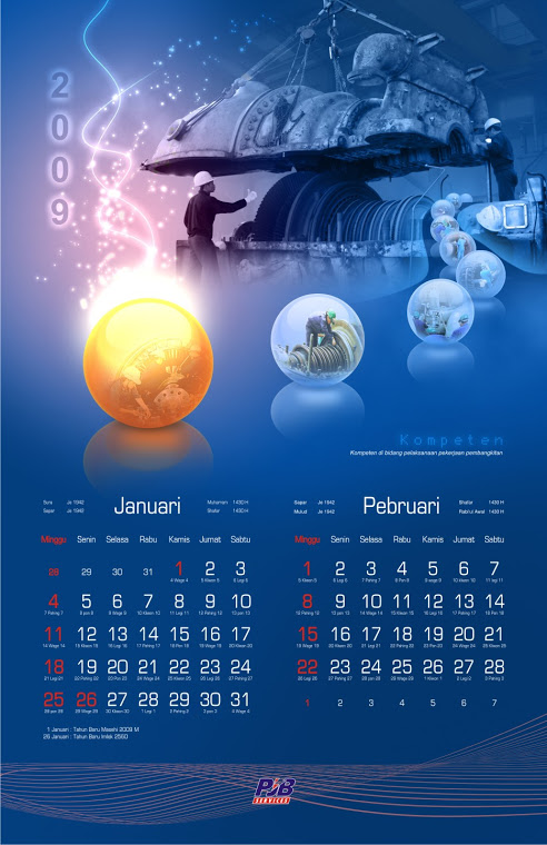kalender bulanan