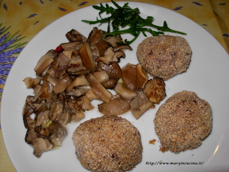 polpettine di fagioli azuki e funghi al forno