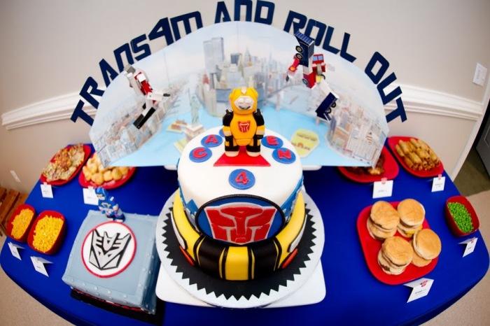 Transformer Birthday Party Ideas Transformer Birthday Party