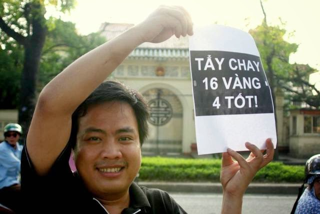 10258489 1514488458779022 610764015787568131 n Preview of Anti China Protest in Front Of Chinese Embassy in Hanoi