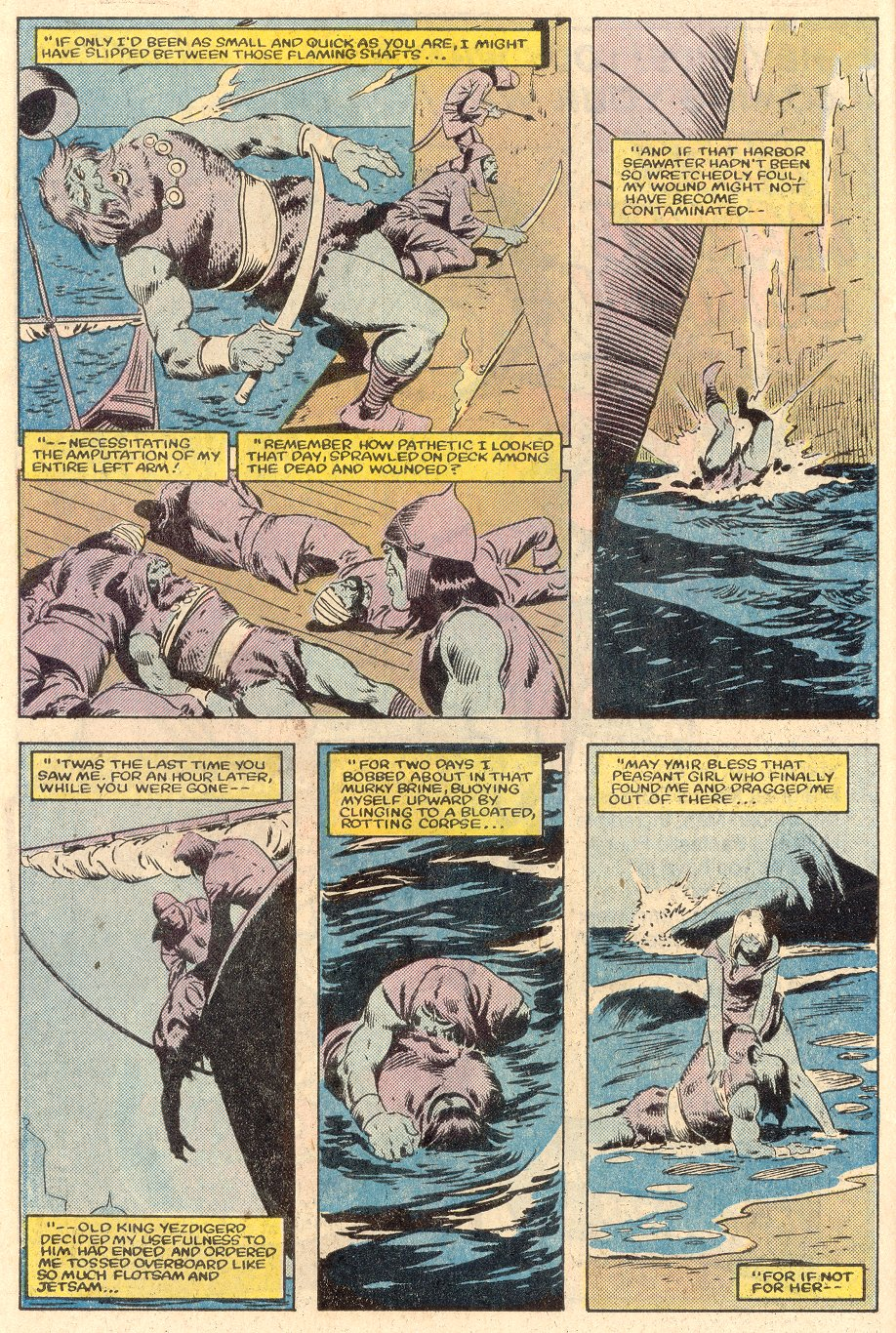 Conan the Barbarian (1970) Issue #161 #173 - English 7