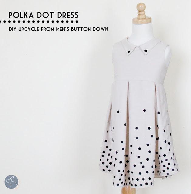 polka dot dress sewing tutorial