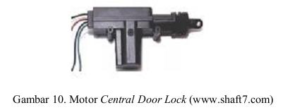 Motor Central Door Lock