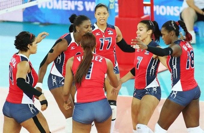 República Dominicana invicta en Mundial de Voleibol