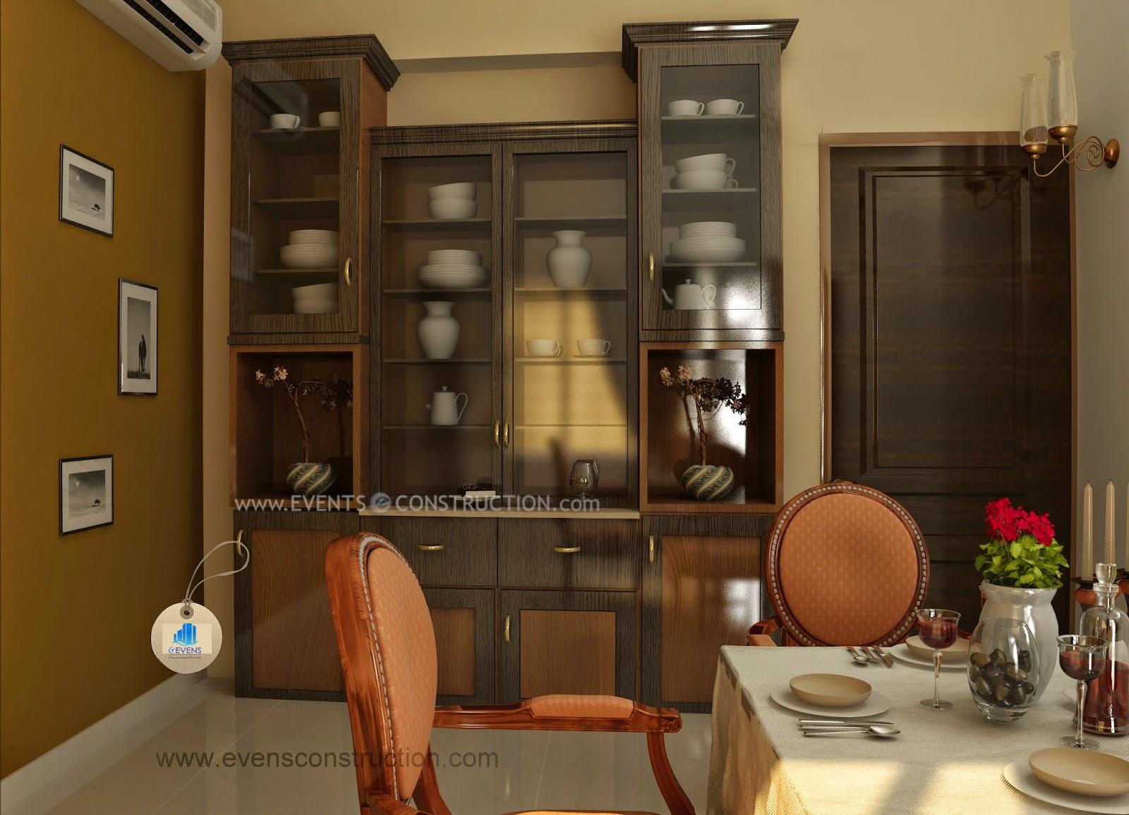 Crockery Shelf In Dining Room