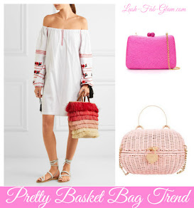 Fabulous Style Trends: Pretty Basket Bags.