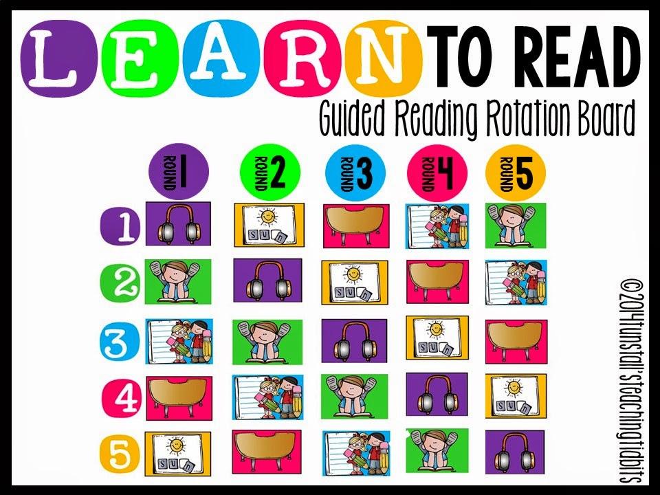 https://www.teacherspayteachers.com/Product/Guided-Reading-Rotation-Board-1421918