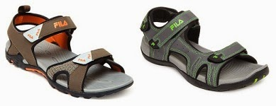 Flat 60% Off: FILA Men Sports Sandals worth Rs.1599 for Rs.697 Only (Hurry!! Only 2 Options available)