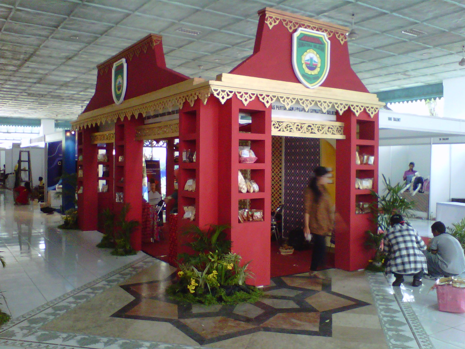 Dekorasi solo asmoro decoration booth booth pameran java for Asmoro decoration